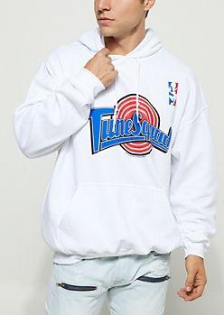 53f2c9b7dd51ce Tune Squad Logo Fleece Hoodie