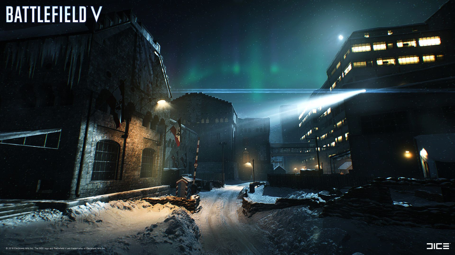 Artstation Battlefield V Nordlys Exteriors Otto Ostera