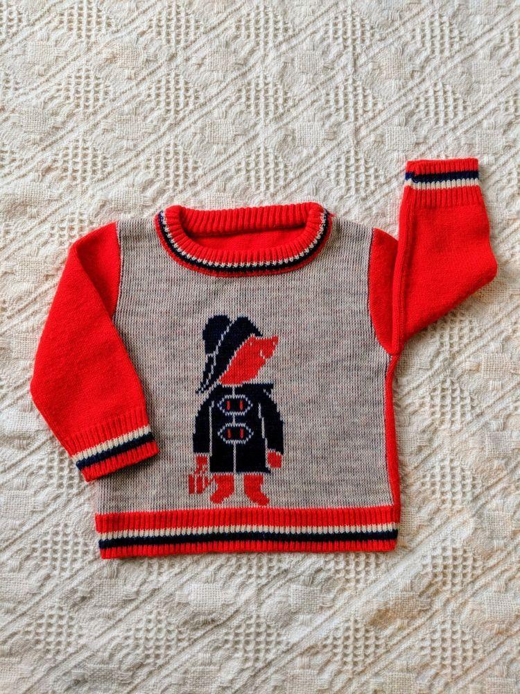 Vintage Paddington Bear Girl or Boy Sweater 3T or 4T  fashion  clothing   shoes 9fbff80c0
