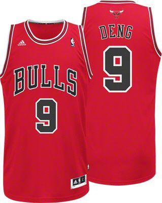 420e0480c2e Luol Deng Jersey  adidas Revolution 30 Red Swingman  9 Chicago Bulls Jersey   89.99  SeeRed