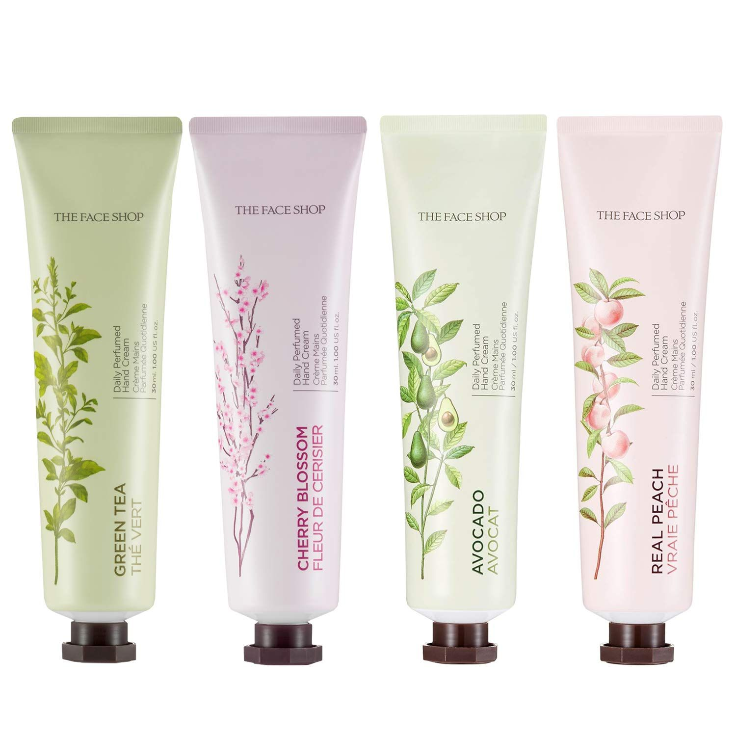 Thefaceshop Daily Perfume Moisturizing Hand Cream Peach