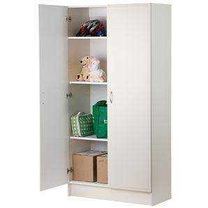 Pantry Rta Bedford 900mm 2door White 700757001 187 Bunnings Home Storage Solutions Flat Pack Wardrobes Storage