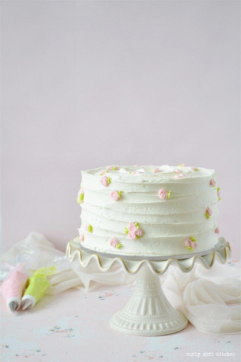 Lemon Cake Lemon Poppyseed Cake Cake Decorating Ideas Buttercream Flowers Wedding Cake Lemon Cake Easy Cake Decorating Cake Decorating