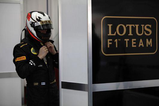 Kimi raikkonen 2012 from Lotus F1 team