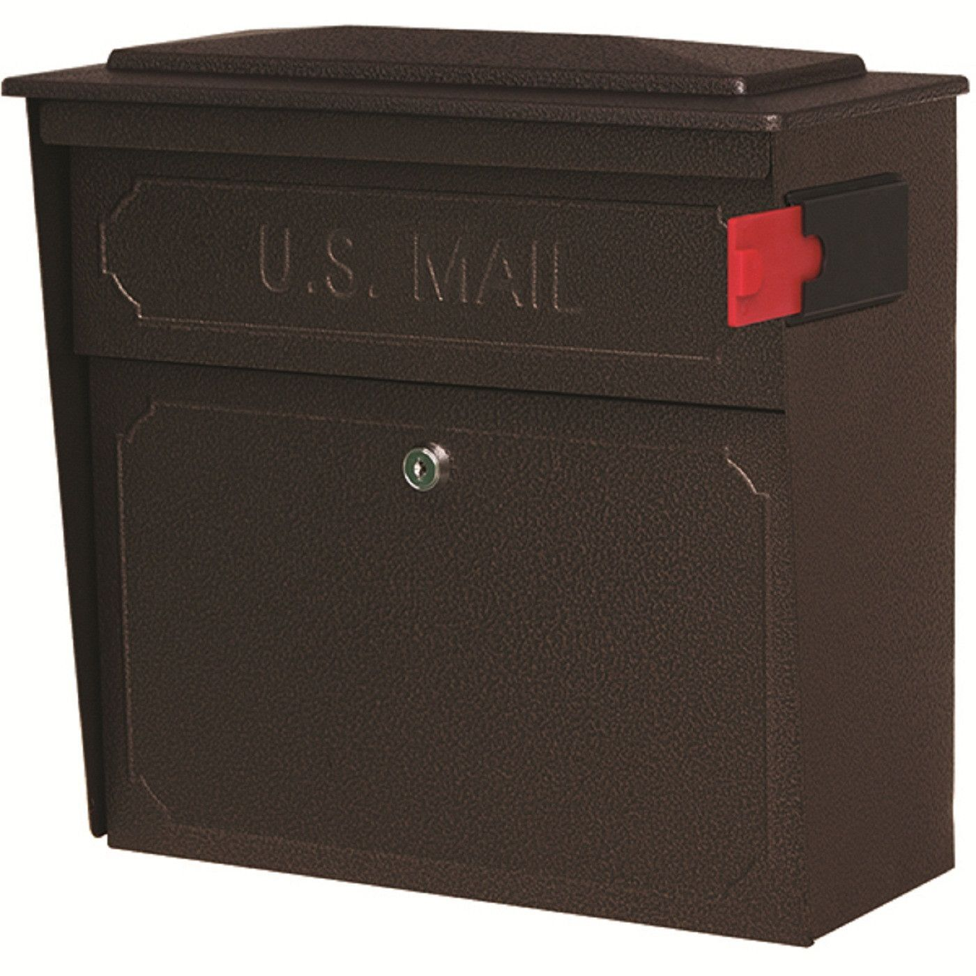 Mail Boss Townhouse Security Locking Wall Mount Mailbox Wall Mount Mailbox Mounted Mailbox Security Mailbox