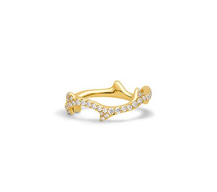41ccacdb42 Rose Dior Pré Catelan ring, small model, in 18k yellow gold and ...