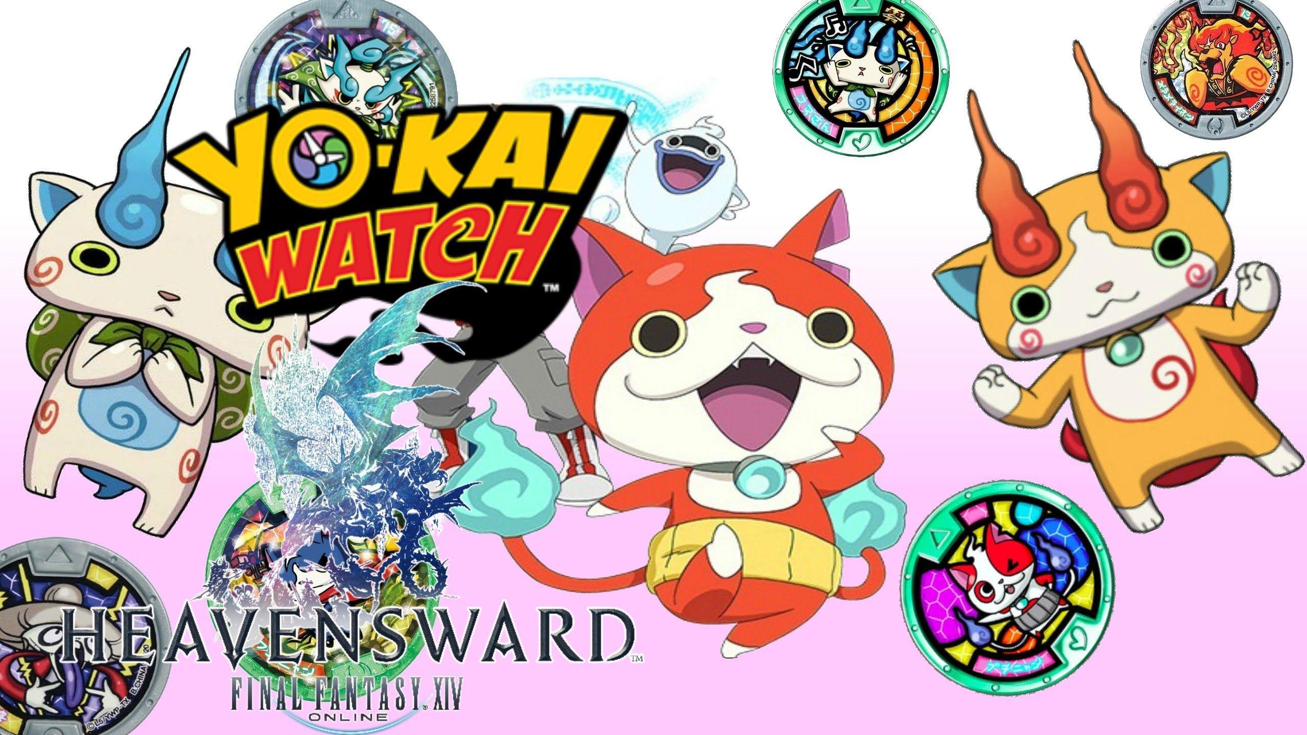 Showcasing the YoKai Watch event items! Final fantasy