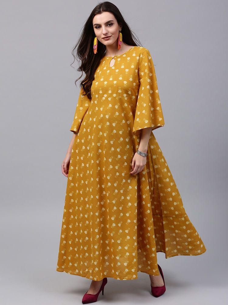 e76f58029d5 Indian Bollywood Designer New Style Printed maxi Kurti women ethnic dress-nk640   Handmade  kurta  casualpartywear