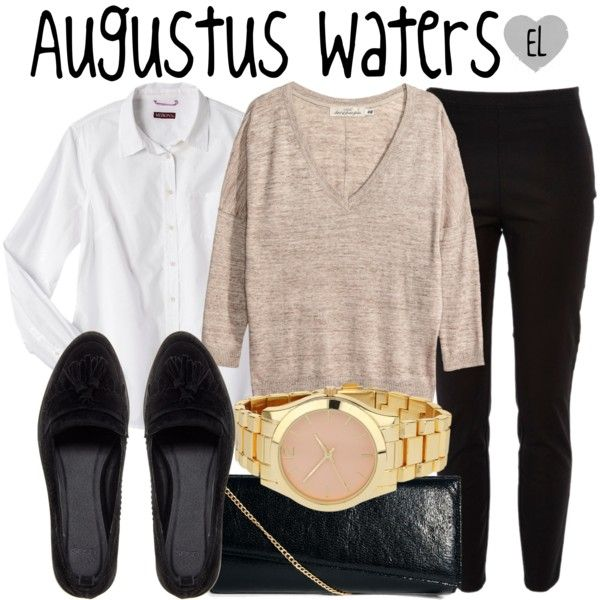 Augustus Waters 3 -- The Fault in Our Stars by evil-laugh on Polyvore featuring polyvore, fashion, style, H&M, River Island, ASOS, Dune, Dorothy Perkins, thefaultinourstars, tfios and AugustusWaters