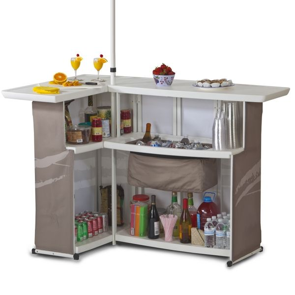 Home Bar Ideas And Supplies: A Portable Party Bar Perfect For Tailgating And Other Game