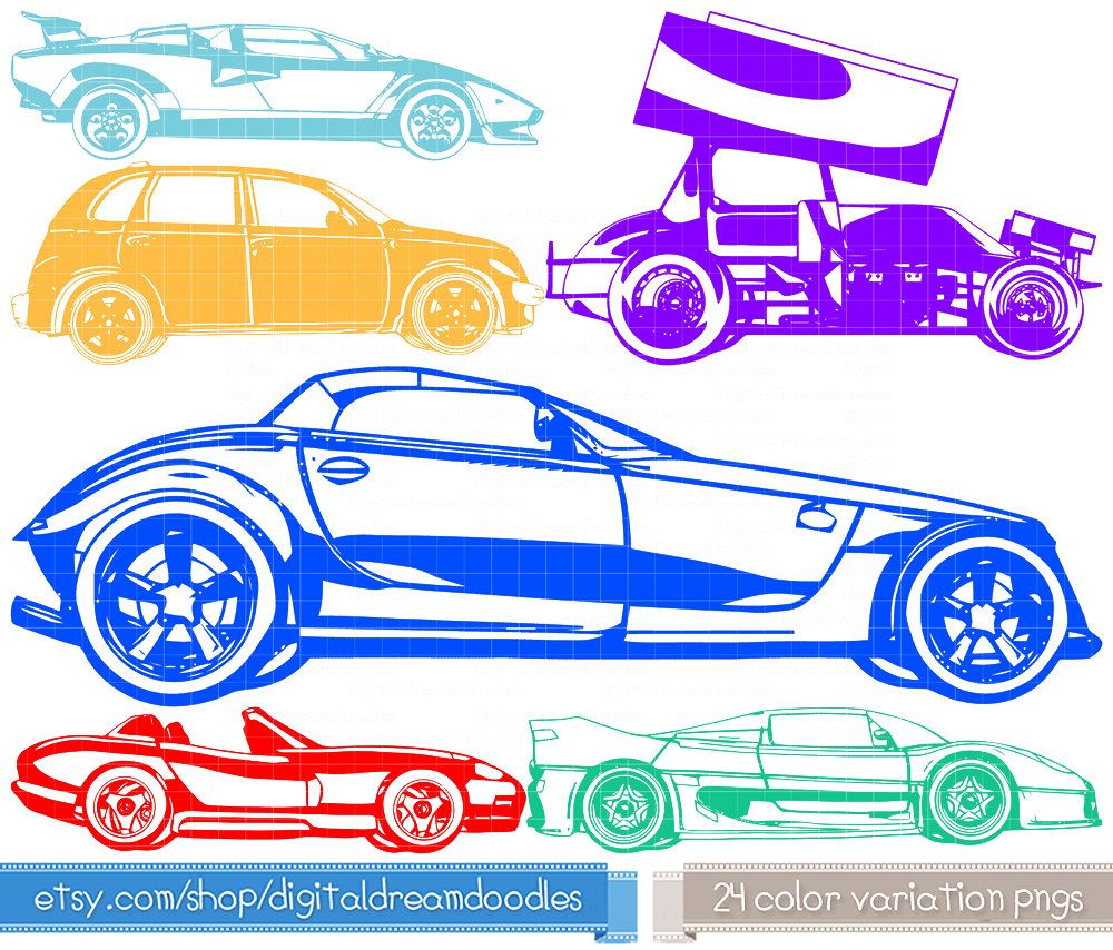 car clipart car clip art vehicle prowler by digitaldreamdoodles [ 1000 x 854 Pixel ]