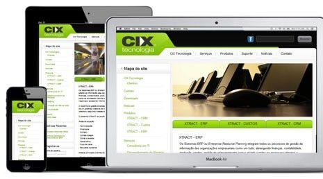 Website Cix Tecnologia