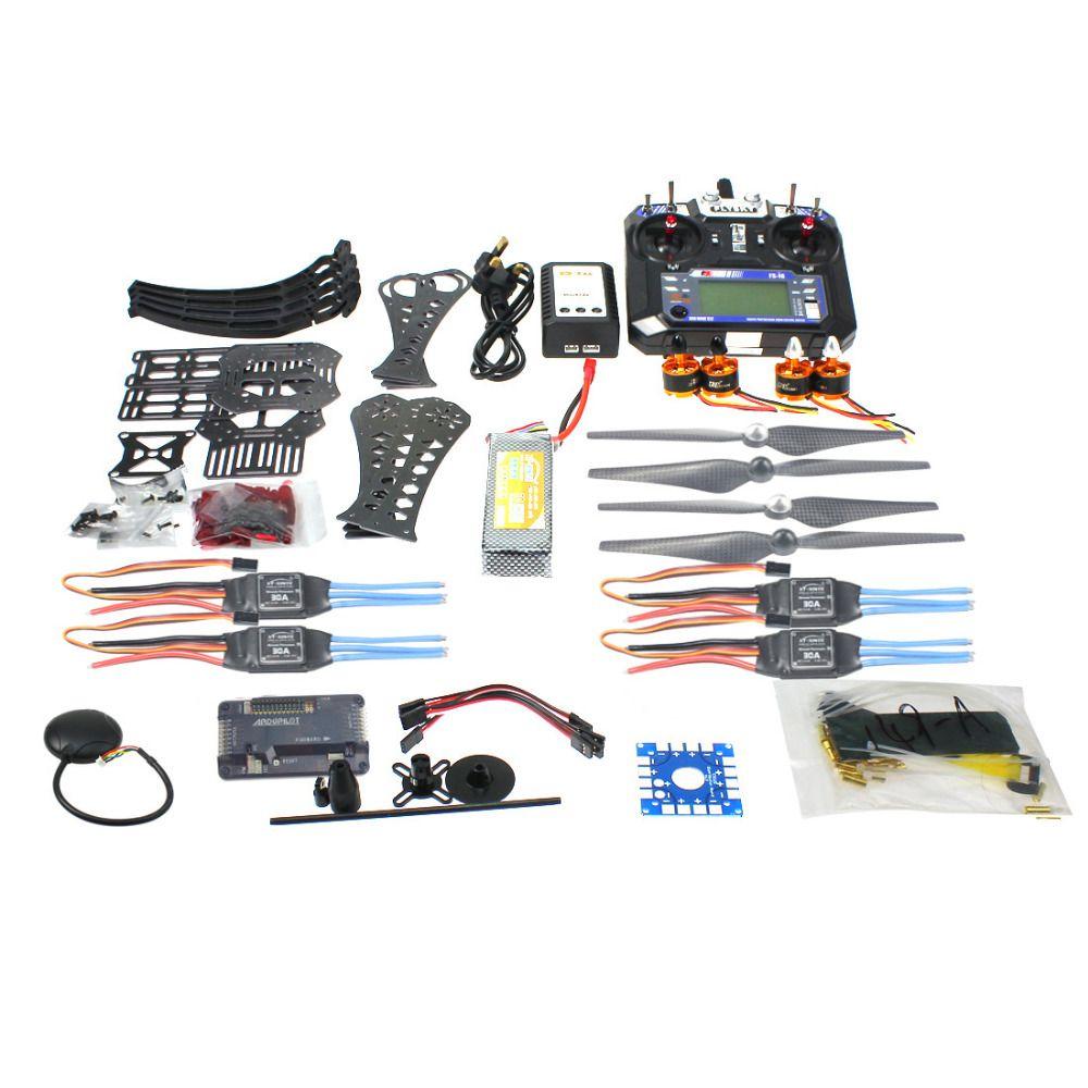 DIY RC Drone Quadrocopter RTF X4M360L Frame Kit QQ Super 6CH TX Gimbal F14892-I