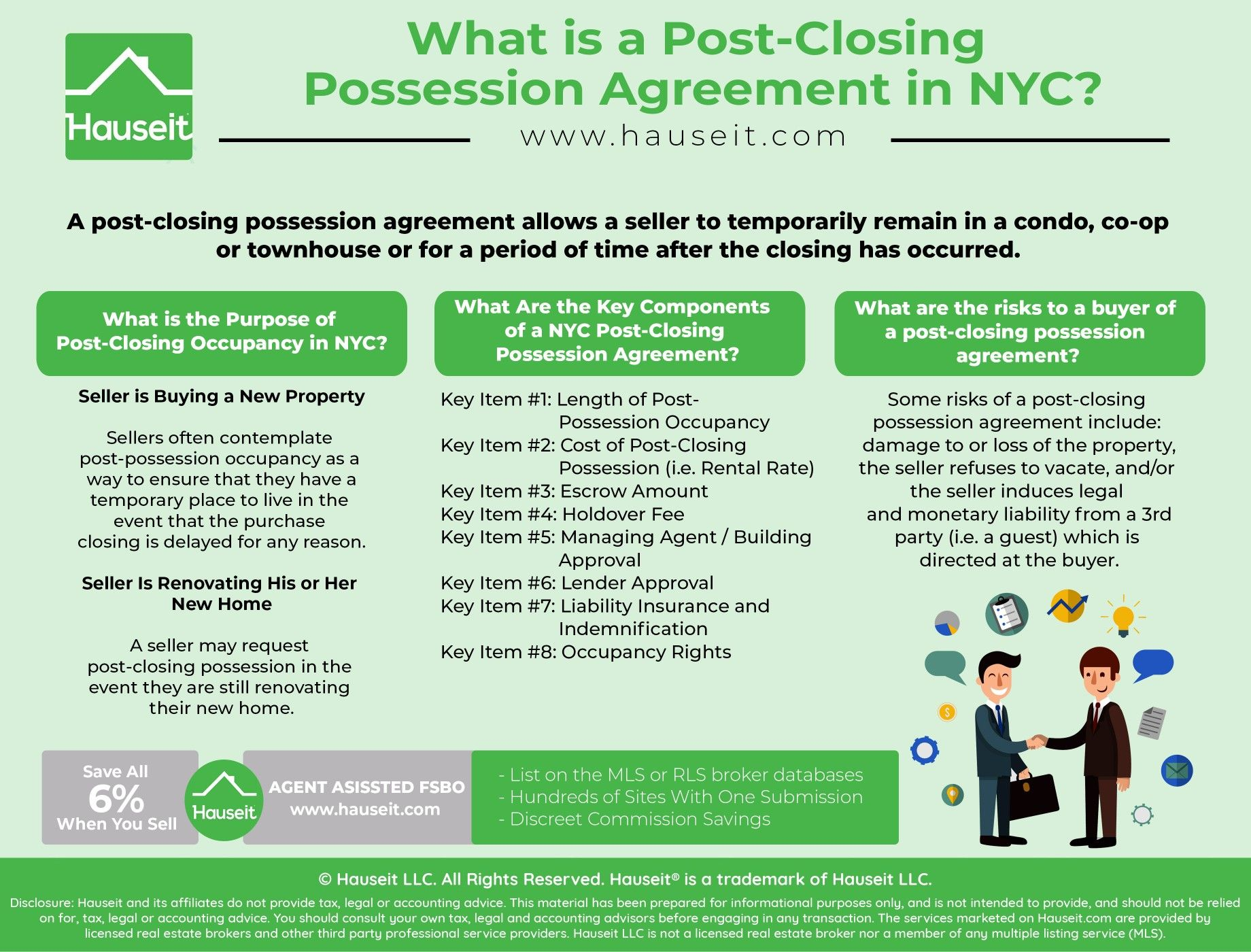NYC-Post-Closing-Possession-Agreement | Hauseit NYC