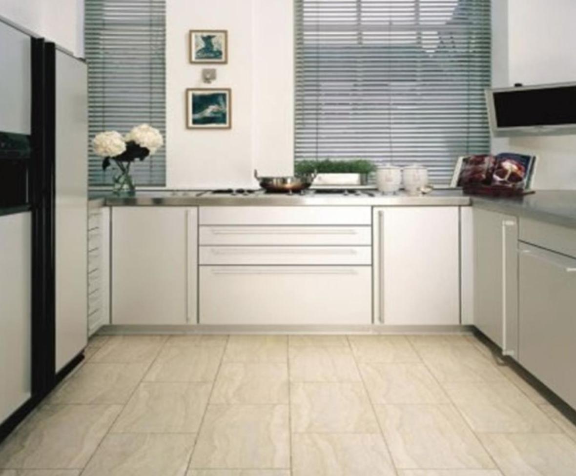 The Different Types Of Kitchen Flooring Materials Kitchen Floor Tile Modern Kitchen Flooring Modern Kitchen Tile Floor