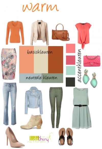 Waarom je juist nu je garderobe na moet kijken | www.lidathiry.nl | Maak een #kleurenschema voor je #lentegarderobe Klik op de foto voor de tips #garderobeplanning