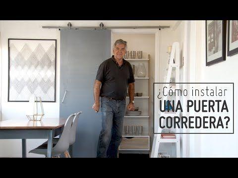 C mo instalar una puerta corredera youtube casa for Instalar puerta corredera