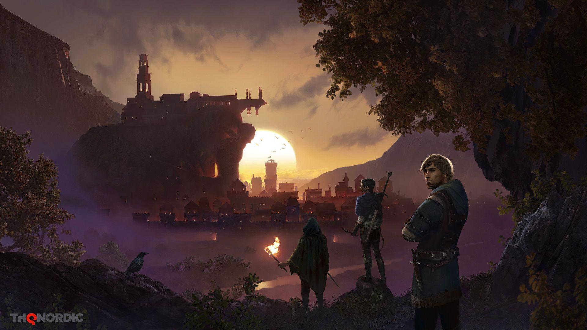 Artstation Enderal Forgotten Stories Main Menu Art