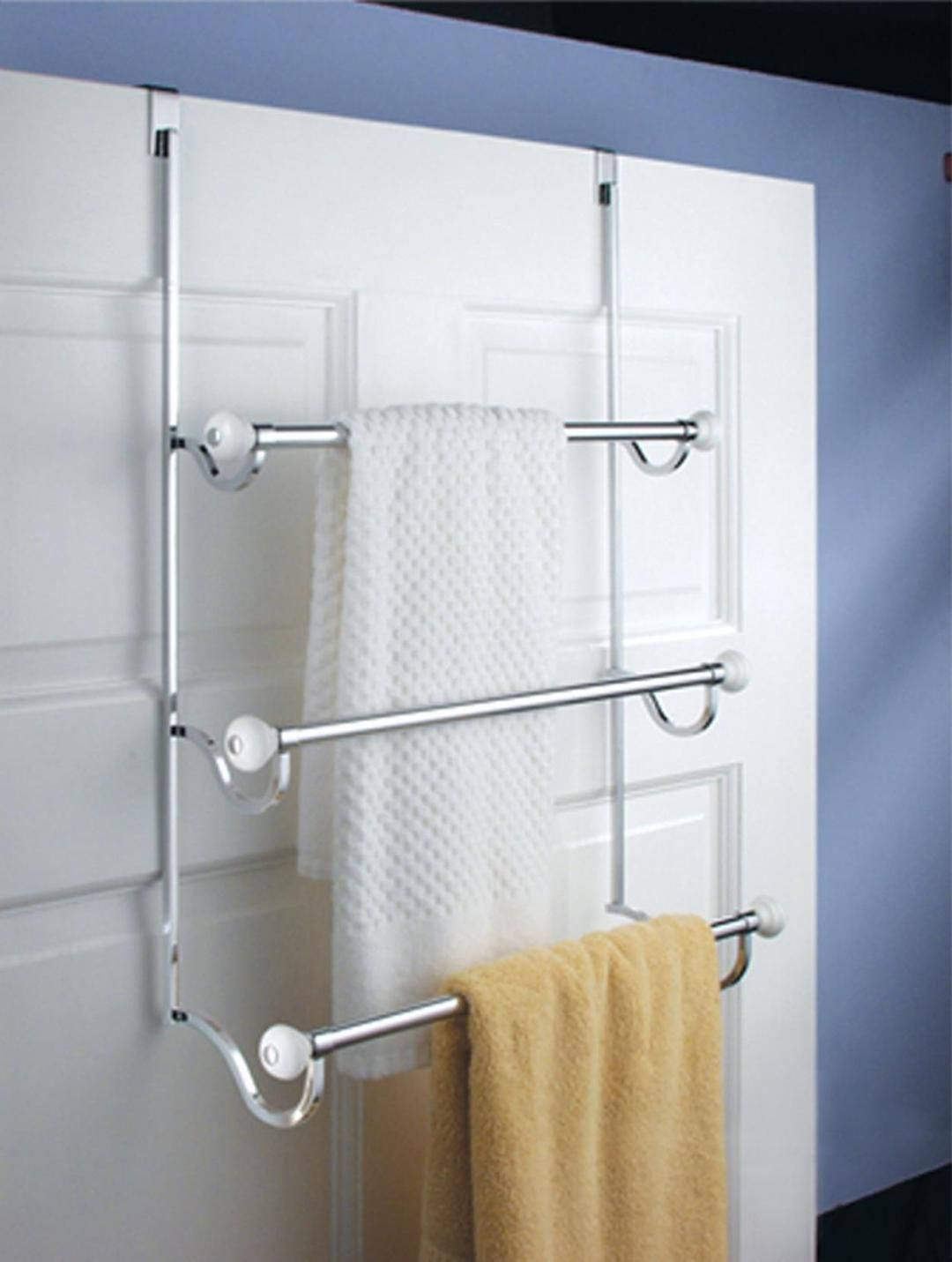 27 Simple But Beautiful Bathroom Towel Hanger Ideas