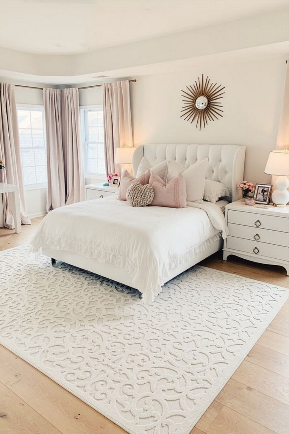 10 Gorgeous Bedroom Decor Ideas 002 Just Looking Picture Is Not Enough Visit My Website To See M Master Bedroom Makeover Bedroom Decor Warm Home Decor
