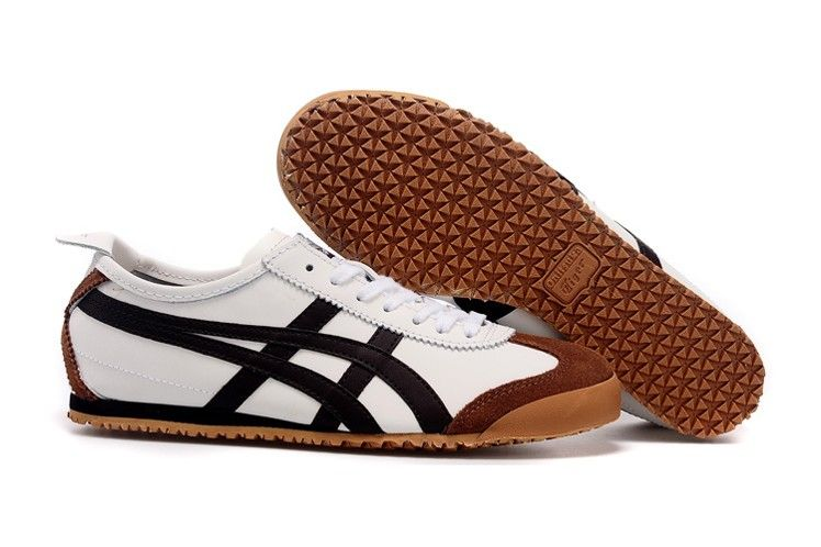 new products b92d7 99d31 Mens Onitsuka Tiger Mexico 66 Shoes (White  Chocolate  Brown)  onitsukatiger