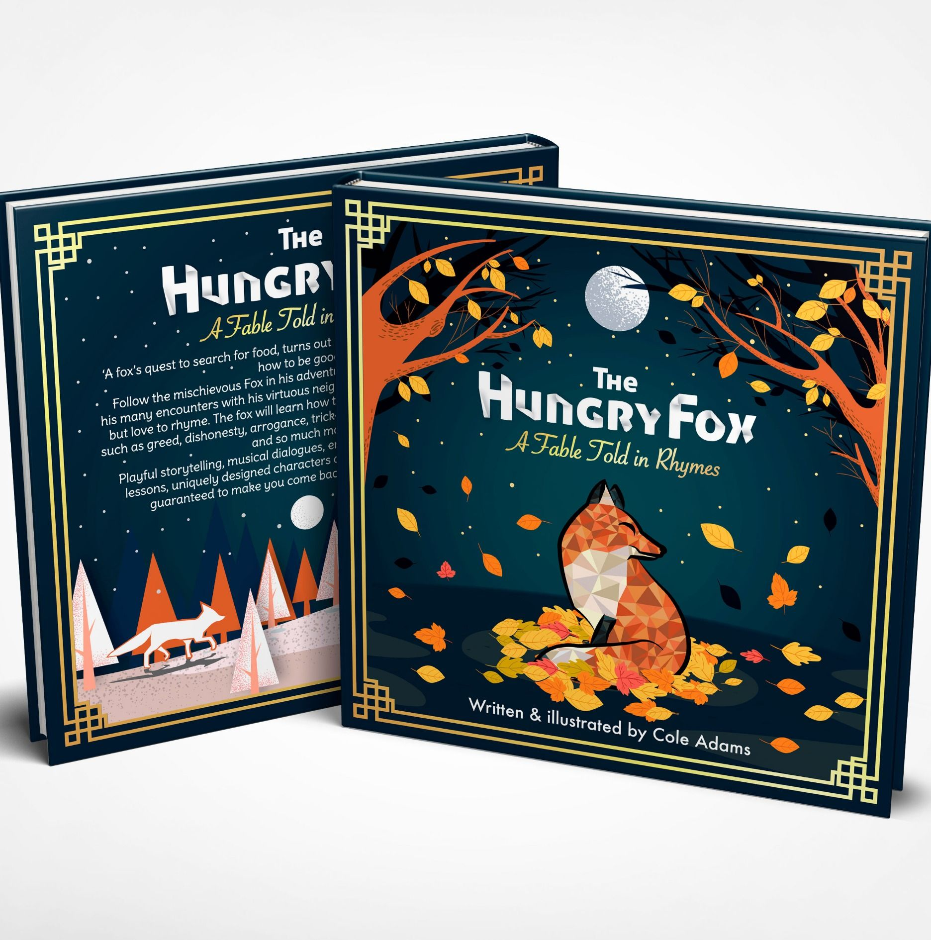 Good Bookcover Design: A Fox S Quest To Search For Food Turns Out To Be A Life