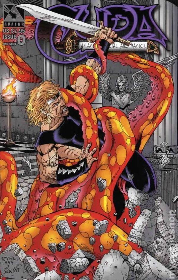 cuda comic   Cuda (1998) comic books