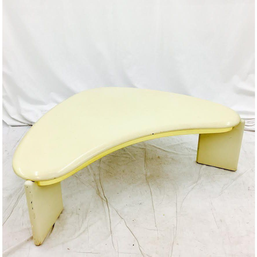 Vintage Mid Century Modern Boomerang Coffee Table ...