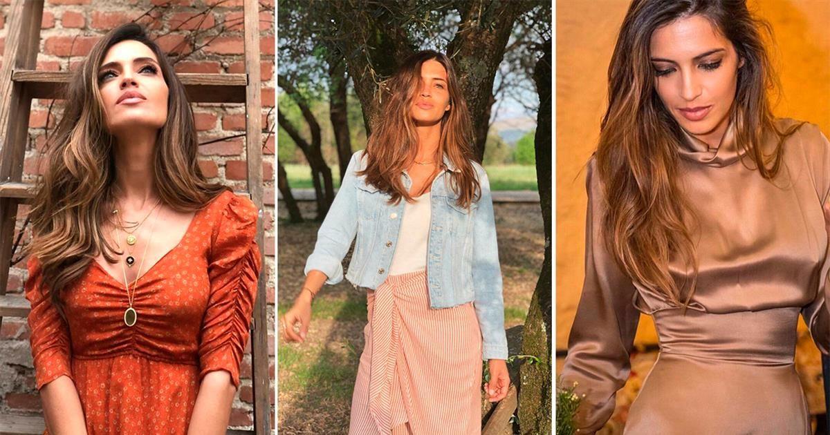 459e6f1b8868 Estilos de vestir de Sara Carbonero primavera verano en instagram - InStyle