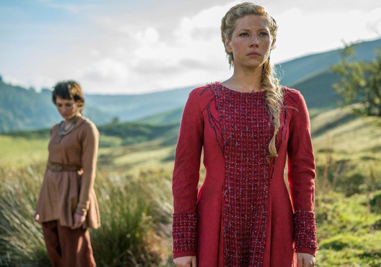Astrid Lagertha Vikings Season Vikings Season 5 Lagertha