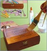 Wooden Craft Boxes To Decorate Cigar Box Crafts …  Pinteres…