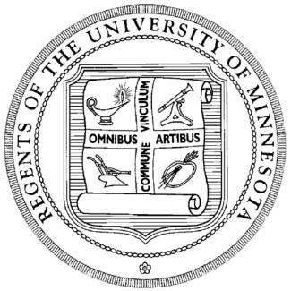 University of Minnesota Golden Gophers seal