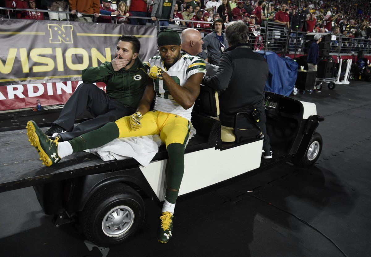 Are The Packers Finally Strategizing To Reduce Player Injuries Green Bay Packers Jerseys Knee Injury Usa Today Sports