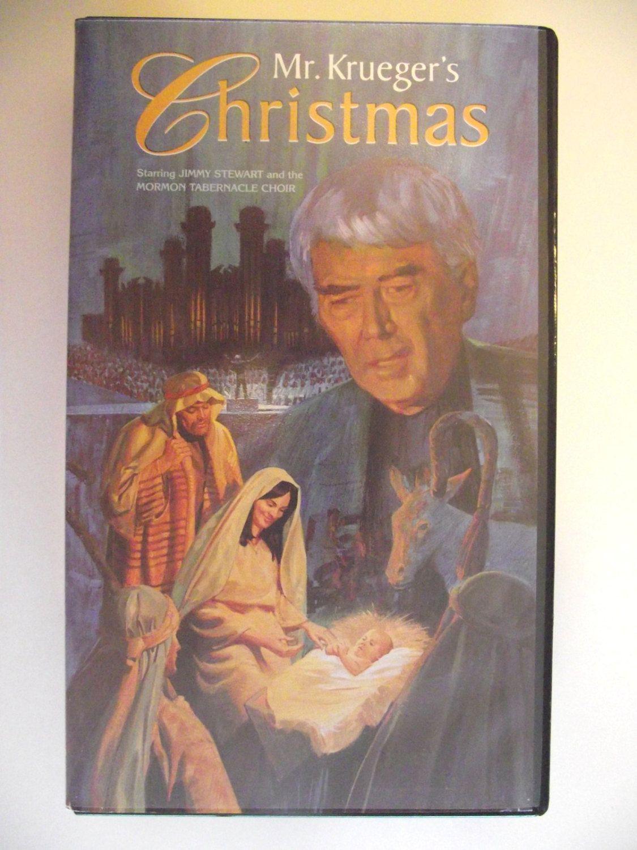 Mr. Krueger\'s Christmas 1980 VHS Jimmy Stewart Mormon Tabernacle ...