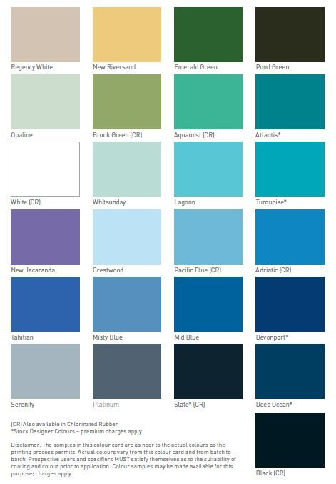 Luxapool Swimming Pool Paint Provides 25 Beautiful Designer Colours Visit Our Website Https