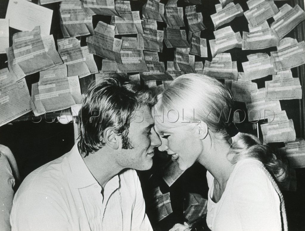 johnny hallyday sylvie vartan mariage 60s vintage photo original 6 ebay sylvie ll. Black Bedroom Furniture Sets. Home Design Ideas
