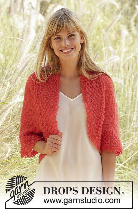 Tea Rose bolero | Knit & Crochet Sweaters, Tops, Vests and Shrugs ...