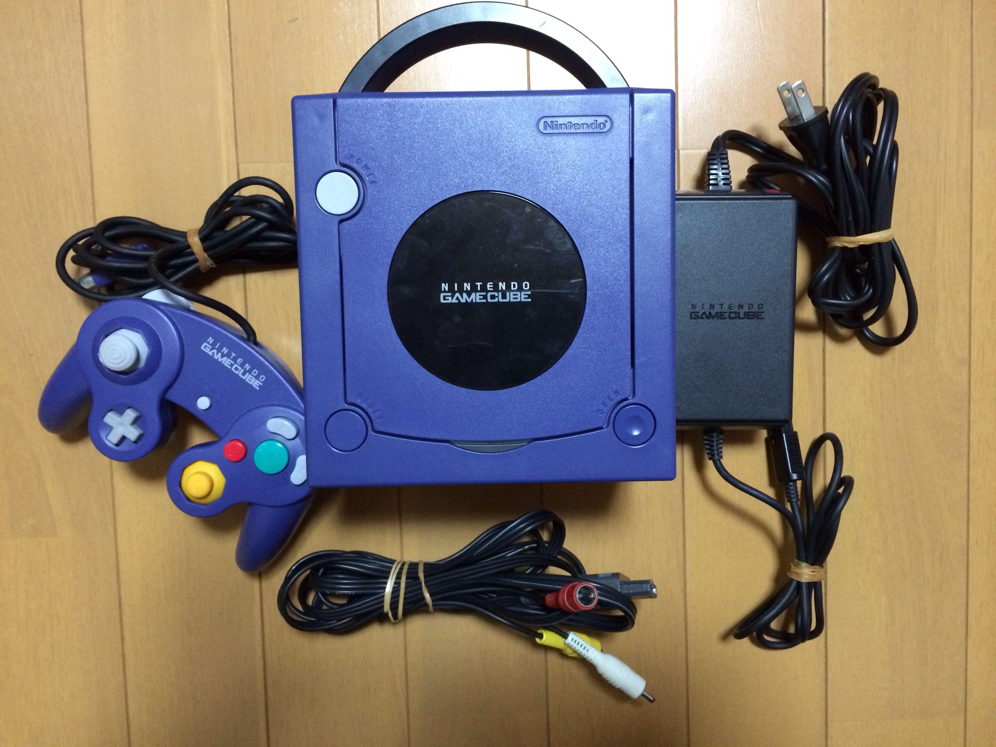 The Standard GameCube console set