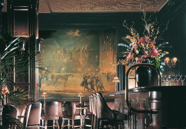 An Imbibing Gentleman The Oak Room At Plaza Hotel NYC