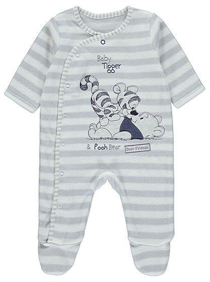 b56de7cda Disney Winnie the Pooh Fleece Sleepsuit