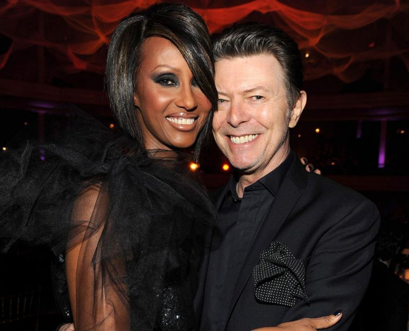 After the tragic loss of rock legend David Bowie on Sunday, January 10, many stars have reached out to his wife, Iman, to share their memories and their support.  Fellow '80s supermodel Christie Brinkley took to Instagram on Tuesday, January 12, to tell fans a special story about her part in Bowie and