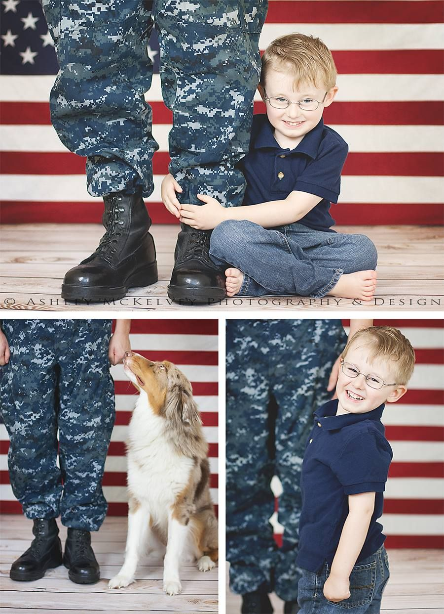 Child Photography | Military Photography | Ashley McKelvey Photography & Design