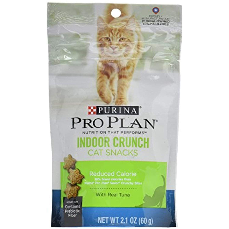 Pet Supply Pro Plan Indoor Crunch Reduced Calorie Tuna Cat Treats