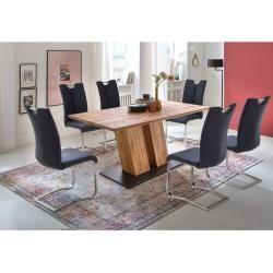 Mca Artos Ii Schwingstuhl 2er-Set Schwarz/Edelstahl Mca Furnituremca furniture