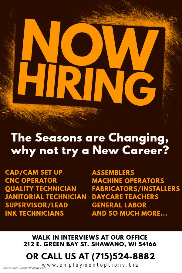 Pin by Employment Options Inc on Looking For a Job