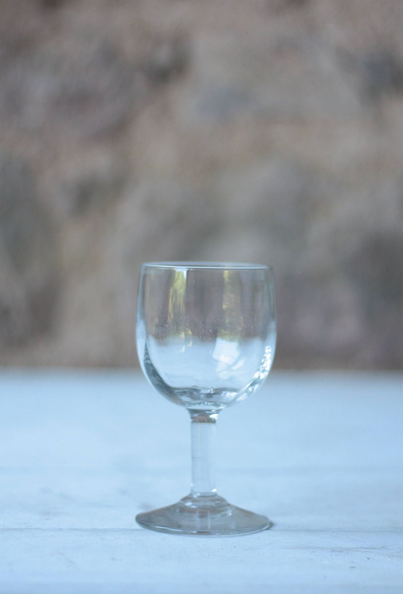 Early 19th Century French Wine Glass By Farmgatevintage On Etsy