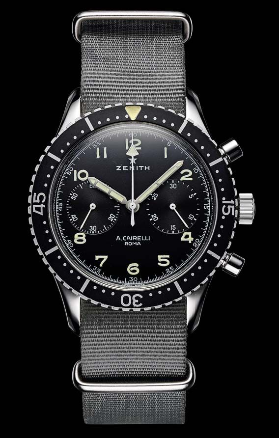 The Watch Quote: The Zenith Pilot Big Date Special watch - Flight plans N°2 : Landing at the South Pole