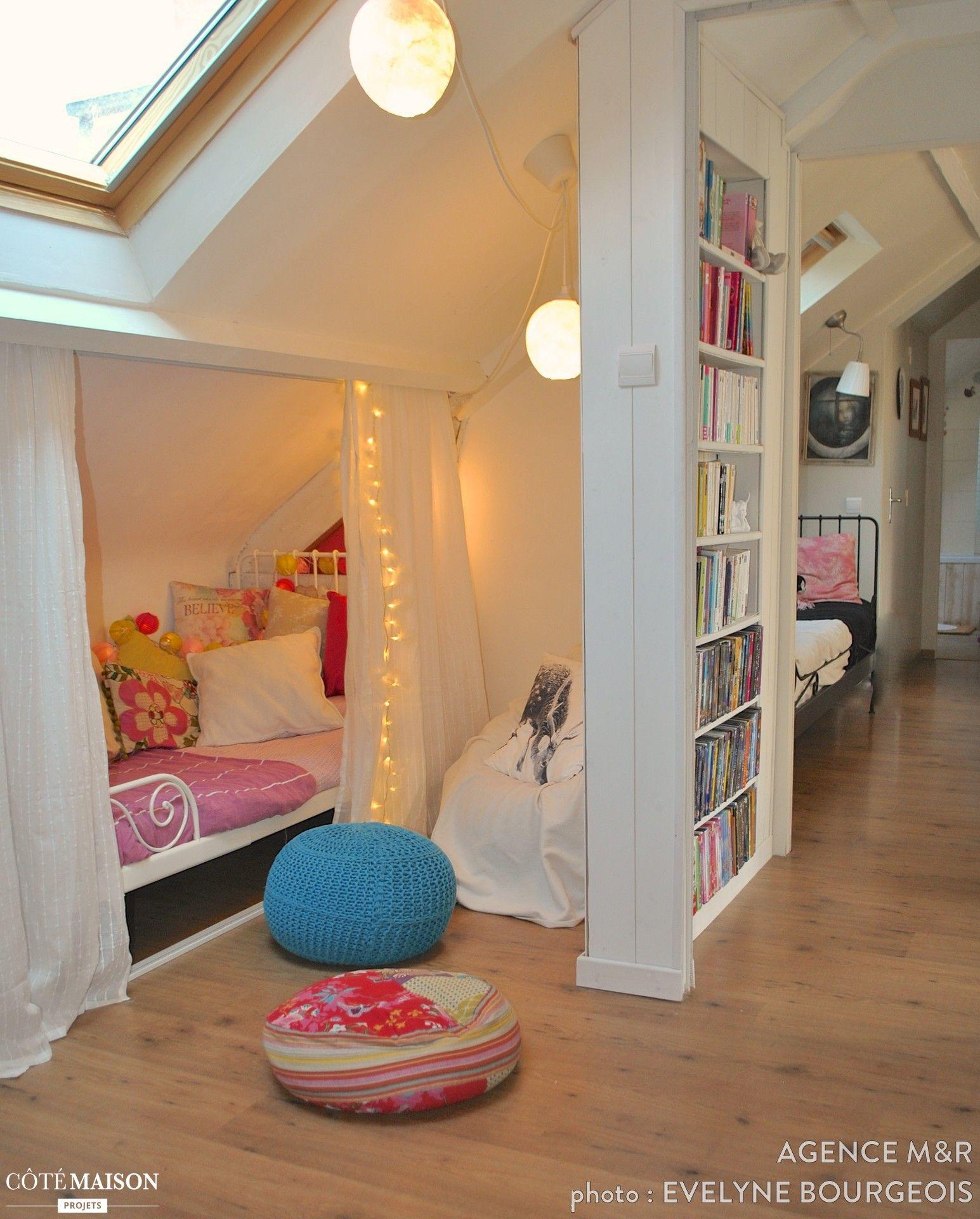 Deux chambres en une, agence m&r - Côté Maison | De bien bonnes ...