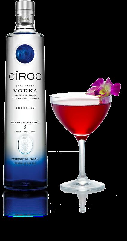 Cocktails For The Millennial Drinker For Nationalvodkaday 10 4 Vodka Drinks Vodka Ciroc Drinks