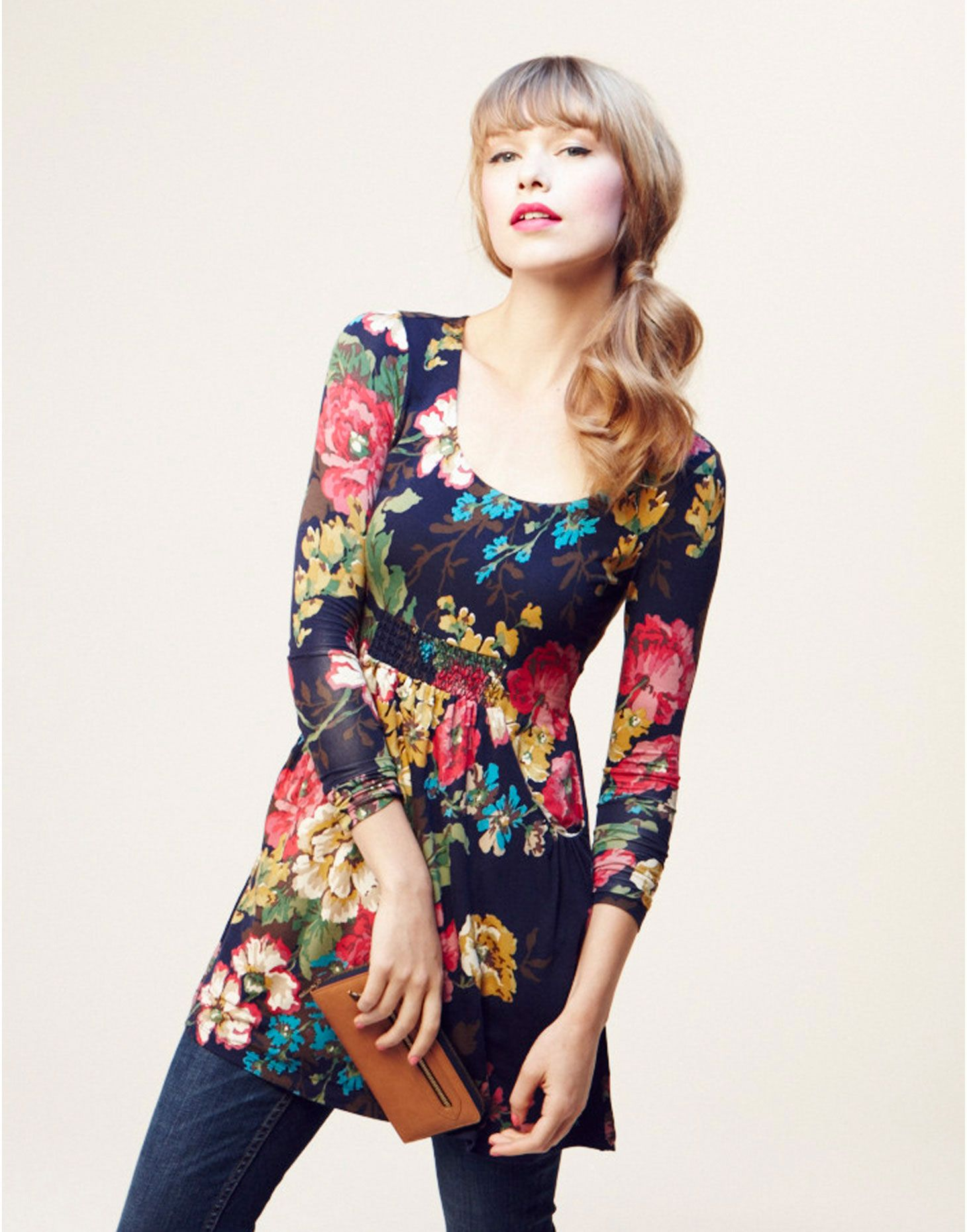 ALEXI Womens Printed Tunic from Joules - I want this soooo much ...